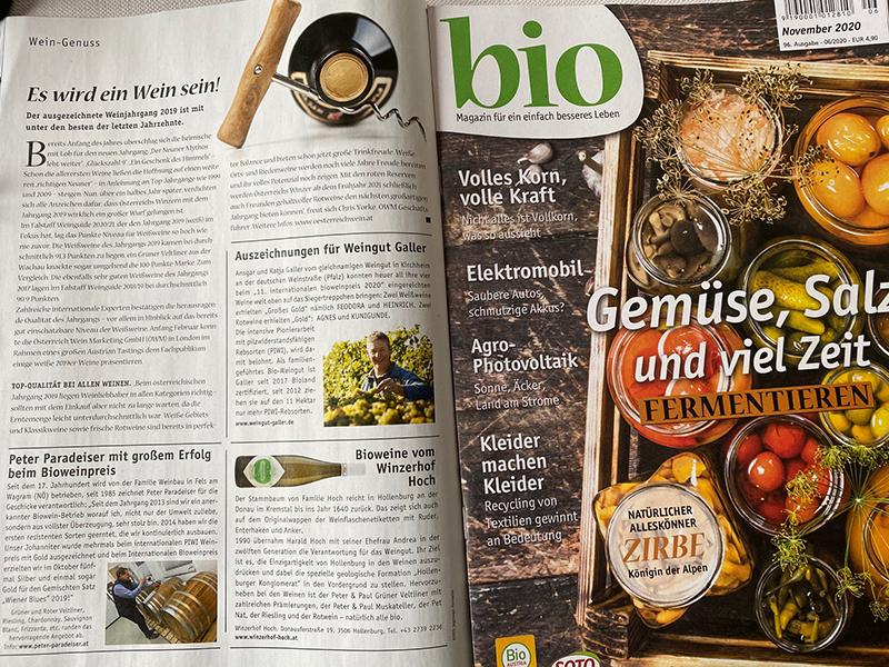 Artikel im bio-Magazin